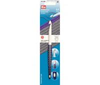 Крючок для вязания 218490 Prym 8.0 мм пластиковый с эргономичной ручкой