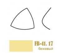 Чашки для бюстгалтеров корсетные FB-41.17/75 бежевые (10пар)