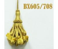 Кисти BX605/708 золото (10 шт)