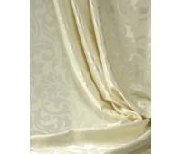 Ткань для штор блэкаут софт 2-х сторонний с рисунком WZGA1360-205 молочный (25 м± )