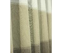 Ткань для штор микросетка Doner 188 V15 белый/бежевый высота 290 см (30 м±)