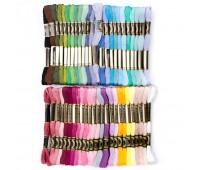 Мулине нитки для вышивания набор №2 50 цветов