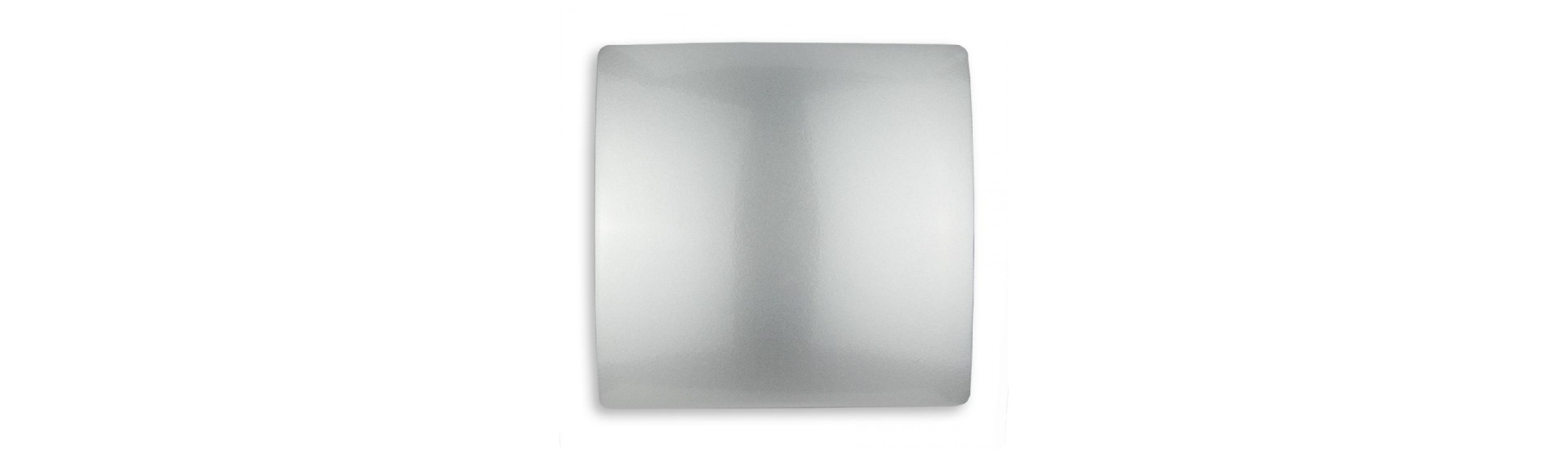 Магнит для штор на тросе 970-904 Винил серебро 14,5 см Квадрат