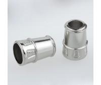 Концевик металлический 1480 никель (100 шт)