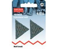 925276 Prym Аппликация Треугольник (2шт) серый