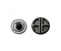Хольнитены 9 мм 8162 темный никель (500 шт.)