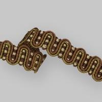 Сутаж отделочный 906-1 коричневый (11,5 м)