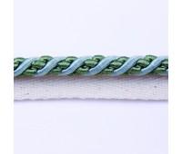 Кант шторный (искусственный шелк) SHK20-11 зеленый (25 м)