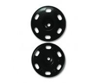 Кнопки 115K-17 мм черный (36 шт)