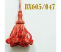 Кисти BX605/047 оранжевый (10 шт)
