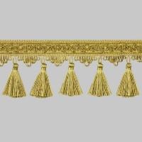 Бахрома для штор LS03-9 золото (12 м)