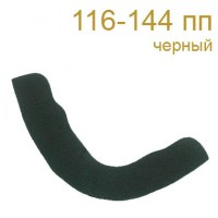 Подокатники 116-144 пп черные (100 пар)