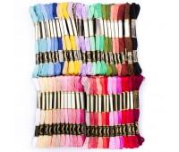 Мулине нитки для вышивания набор №1 50 цветов
