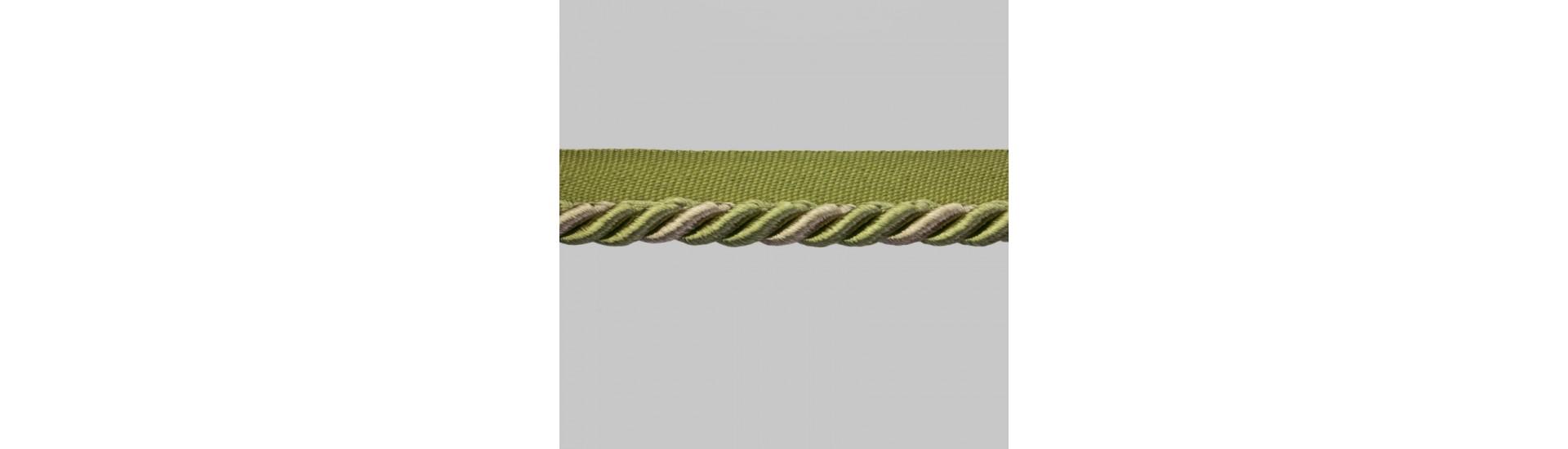 Кант шторный SM-D7-002 (SMD7002)/1 хаки-бежевый (25 м)