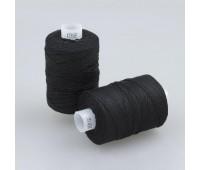 Нитки швейные хлопчатобумажные ХБ-10(30/3) черный (5 шт по 200 м)