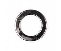 Кольцо пластиковое плоское 3913 50/76 мм темный никель (20 шт)