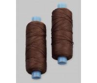 Нить обувная темно-коричневая (5 шт по 150 м)