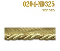 Кант шторный 0204-ND325 золото (25 м)
