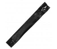 Молния водонепроницаемая 18 см черная пиксель (мозаика) Т7 спираль неразъемная (10 шт)