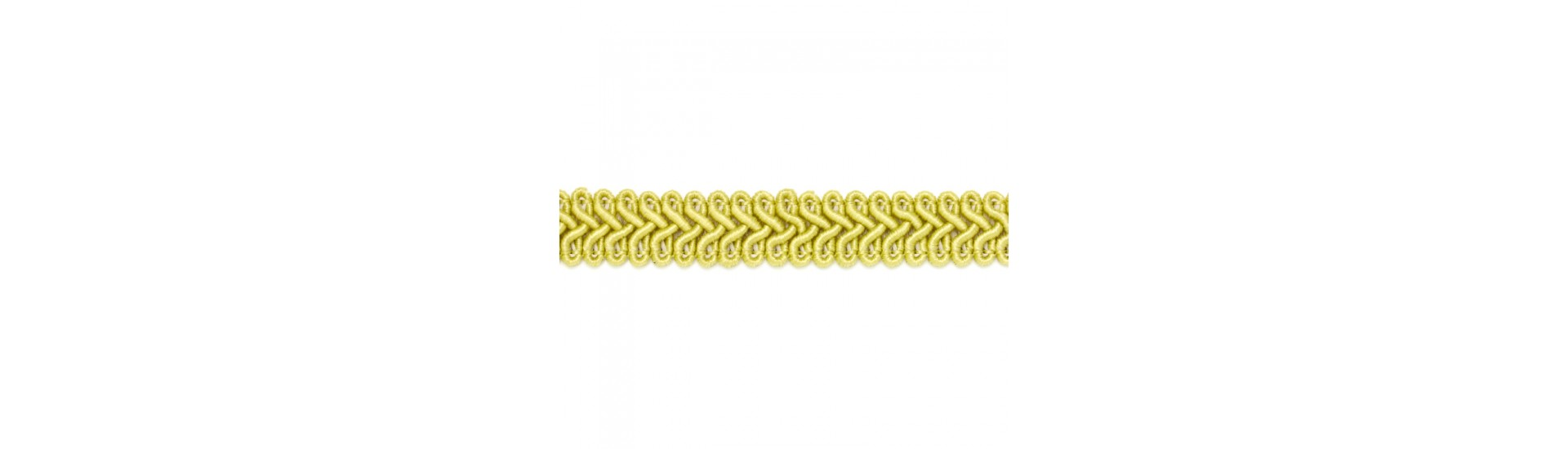 Шторная тесьма SR009 золото (50 м)