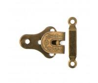 Крючок для брюк Massag из 2-х частей (18 мм) 15255 1/2 (Коричневый оксид) (12 шт)
