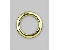 Люверсы пластик для ткани 42/43 (42 мм) золото (45 шт)