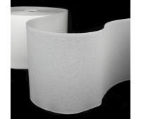 Люверсная 2-х сторонняя белая термоклеевая лента 10 см (50 м)