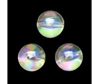 """Бусины """"Шар"""" AZ-0801AB перламутр диаметр 22 мм (500 г~82 шт)"""