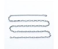 Ремень металлический 652 темный никель (10 шт)