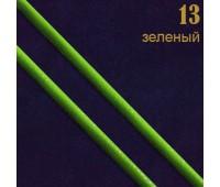 13 зеленый Шнур прош.к/з перламутр. L3 мм (34ярд)