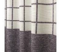 """Ткань для штор """"рогожка клетка"""" 280 см S14675-3 (30 м±)"""