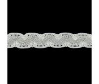 Сутаж отделочный M-1-7 молочный (12 м)