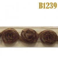 Тесьма B1239 коричневый (13,7 м)