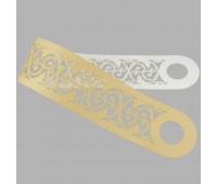 Подхват ажурный светлое золото ПП001-2