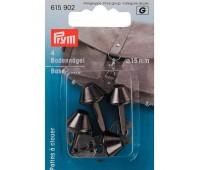 Ножки (гвоздики) 615902 Prym для дна сумки 15 мм цвета состаренного серебра 4 шт