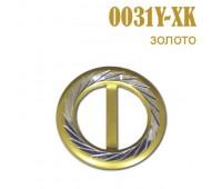 Пряжка 0031Y-XK золото (25 шт)