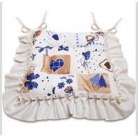 """Подушка для сидения """"Яна"""" синий"""
