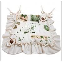 """Подушка для сидения """"Яна"""" зеленый"""