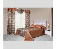 """Комплект для спальни """"Фиеста"""" коричневый"""